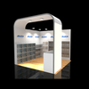 10ft Reusable cheap small tradeshow exhibition for booth display