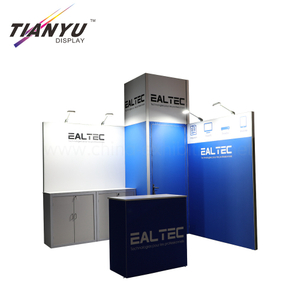 portable expo island exhibition booths stand design system and production