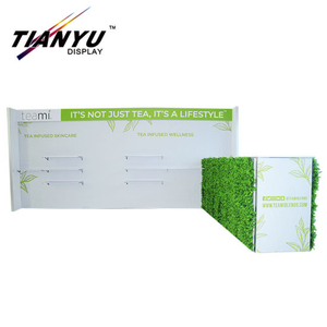 Modular Exhibition Aluminum Frame Tension Fabric Used Trade Show Booth