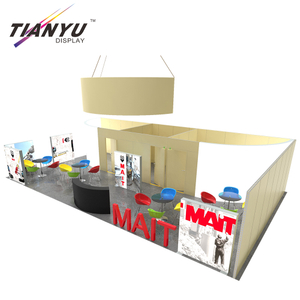 10x20ft/10x30ft Changeable Trade Show Display Stand With Graphic Designing