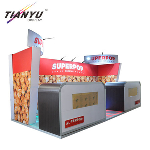 Light Weight Exhibition Booth 3X3 Hot Sell 10X20 Trade Show Booth