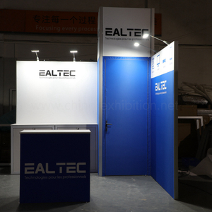 China customized aluminum modular 3x3 exhibition booth for trading